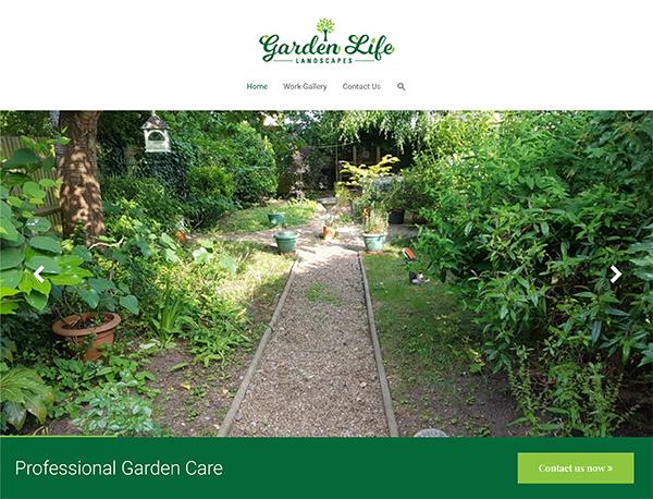 garden life landscapes - Web Portfolio