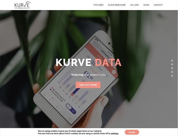 kurve tech - Web Portfolio