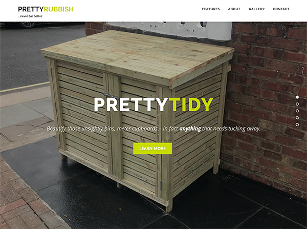 pretty rubbish - Web Portfolio
