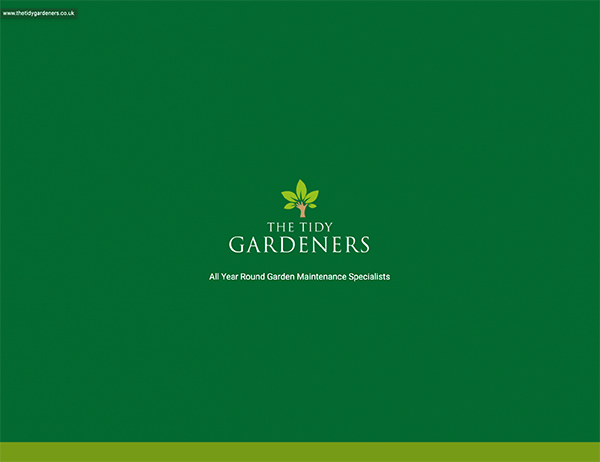 the tidy gardeners - Web Portfolio