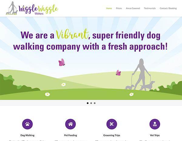 wiggle waggle walkers - Web Portfolio